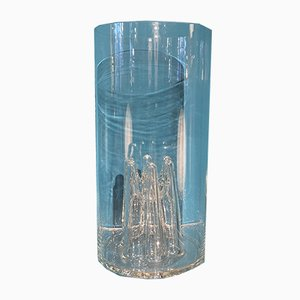 Large Murano Glass Vase Object by Tony Zuccheri for Veart, 1970s