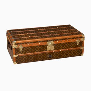 20th Century Cabin Trunk in Monogram Canvas from Louis Vuitto, France, 1910s