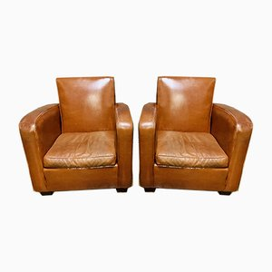 Club Chairs, 1950s, Set of 2