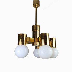 Lámpara de araña de Gaetano Sciolari para Sciolari, años 60