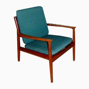 Mid-Century Danish Teak Lounge Chair by Svend Åge Eriksen for Glostrup
