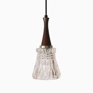Mid-Century Danish Rosewood Pendant Lamp