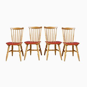 Menuet Dining Chairs from Baumann, 1960s, Set of 4