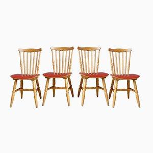 Menuet Esszimmerstühle von Baumann, 1960er, 4er Set