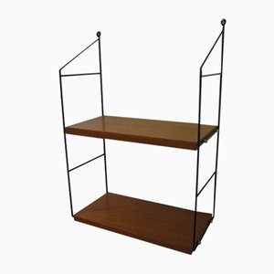Swedish Wall Shelving by Kajsa & Nils Strinning for String, 1960s