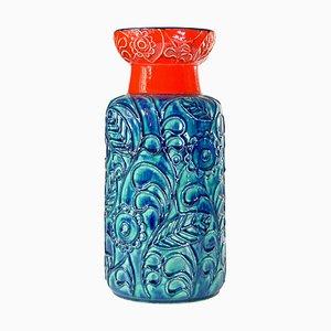 Vase par Bodo Mans pour Bay Keramik, Germany, 1960s