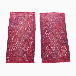 Vintage Turkish Kilim Rugs, 1970s, Set of 2
