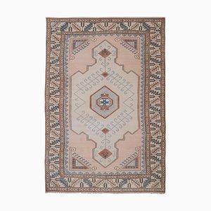 Anatolian Pastel Handwoven Oushak Kars Carpet, 1970s