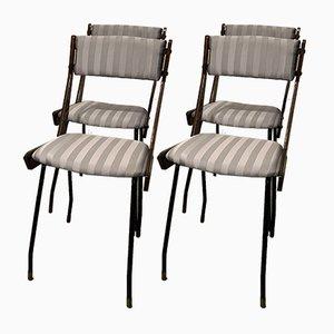 Esszimmerstühle von Carlo Ratti, 1960er, Set of 4
