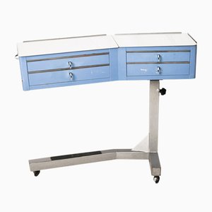 Mobile Dentist's Console with Drawers from Anthos, 1970s