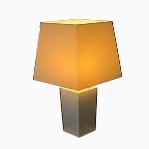 Lámpara de mesa italiana moderna, años 80