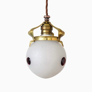 Antique Ceiling Lamp by Koloman Moser for Bakalowits & Söhne