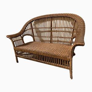 Cane Sofa, 1970s