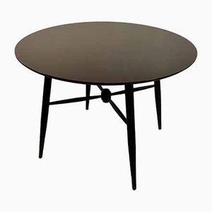 Vintage Round Dining Table by Ilmari Tapiovaara for Edsby Verken