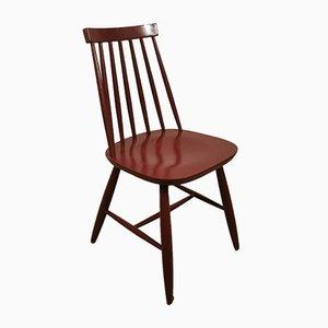 Vintage Dining Chairs by Ilmari Tapiovaara for Edsby Verken, Set of 4