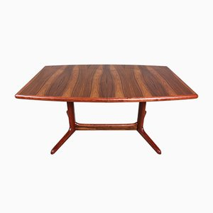 Mid-Century Extendable Rosewood Dining Table from Skovby, 1960s