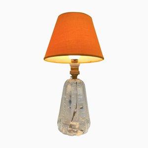 Bullicante Murano Glass Table Lamp by Vetreria Archimede Seguso for Vetreria Archimede Seguso, 1950s