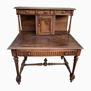Antique Tiered Office Desk, 1900s