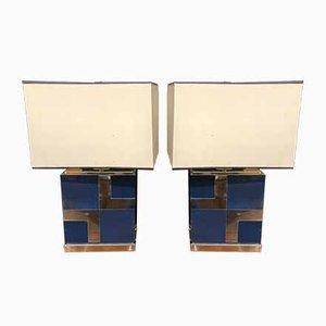 Tischlampen von Romeo Rega, 1970er, 2er Set