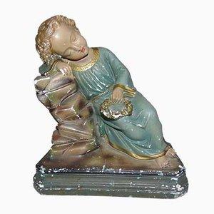 Pre-War Figurine, Plaster, Lord Jesus