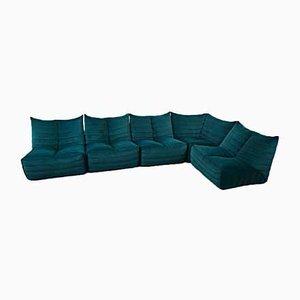 Model Zozo Sectional Sofa, 1970s, Italy, Set of 9