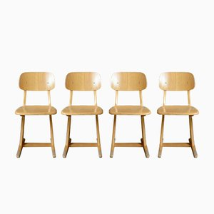 Dining Chairs by Karl Nothhelfer for Casala, 1960s, Set of 6