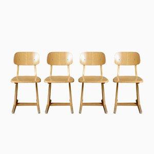 Esszimmerstühle von Karl Nothhelfer für Casala, 1960er, 6er Set