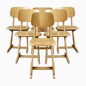 Esszimmerstühle von Karl Nothhelfer für Casala, 1960er, 4er Set