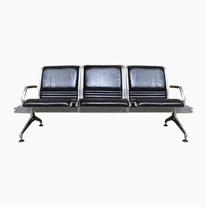 Leather Bench from Kusch+Co, 1980s