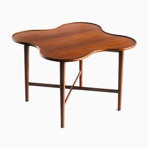Table d'Appoint en Teck Attribuée à Arne Vodder pour Bovirke, 1960s
