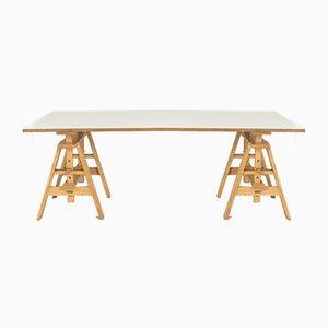 Leonardo Work Table by Achille Castiglioni for Zanotta, Italy, 1940s