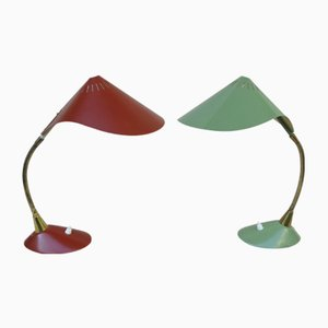 Cobra Desk Lamps from Cosack, 1950s, Set of 2