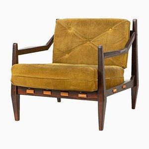Palisander Sessel von Jean Gillon, 1960er