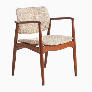 67 Captain's Chair by Erik Buch for Ørum Møbelfabrik, 1960s