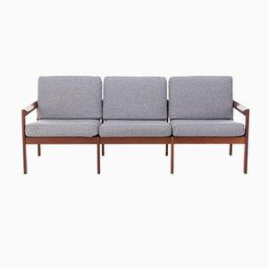 Sofa von Illum Wikkelsø für Niels Eilersen, 1960er