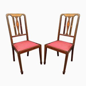 Louis XVI Side Chairs, 1700s, Set of 2
