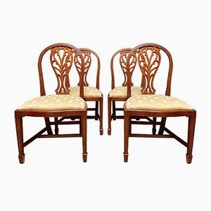 Vintage Esszimmerstühle im antiken Stil, 4er Set