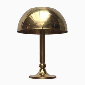 Deutsche Vintage Messing Tischlampe von Florian Schulz, 1970er