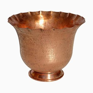 Italian Art Deco Copper Vase by Gio Ponti for Nino Ferrari, 1930s