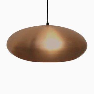 Mid-Century German Copper Pendant Lamp from Goldkant Leuchten
