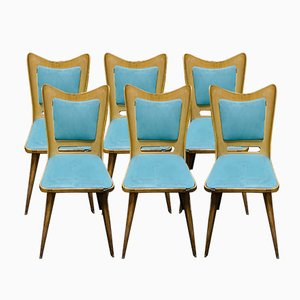 Dining Chairs by Carlo Ratti for Pizzetti, 1950s, Set of 6