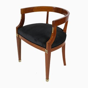 Classical French Lounge Chair, 1840s