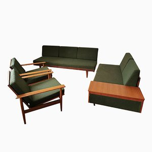 Mid-Century Svanette Living Room Set by Ingmar Relling for Ekornes, 1960s, Set of 4