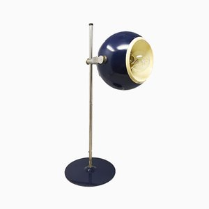 Italian Space Age Blue Eye Ball Table Lamp by Goffredo Reggiani, 1970s