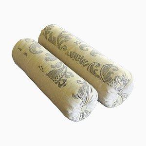 Mid-Century Linen Pillows, Set of 2