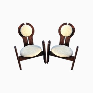 Chaises de Salon Mid-Century par Szedleczky, 1960s, Set de 2