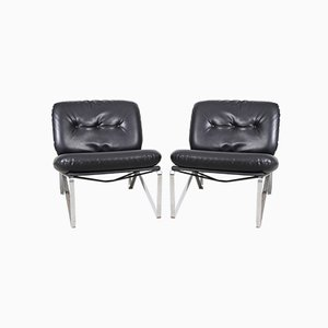 Easy Chairs by Hartmut Lohmeyer for Mauser Werke Waldeck, 1957, Set of 2