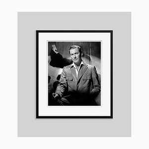 Brooding Flynn Archival Pigment Print Framed in Black by Everett Collection