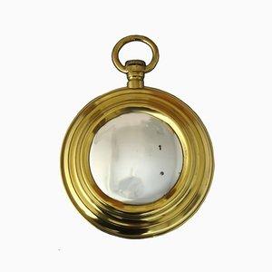 Pocket Watch Shaped Mirror, 1960s