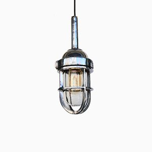 Deckenlampe aus Aluminiumguss, 1960er